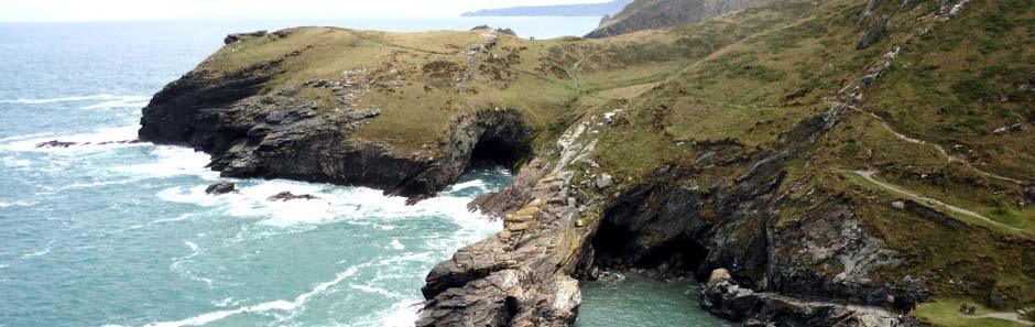 Küste in Cornwall