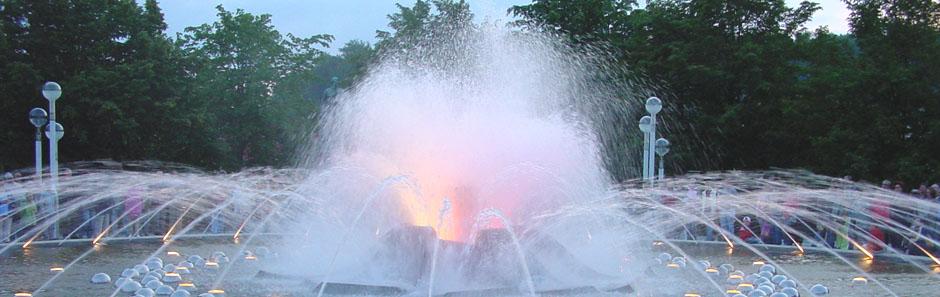Brunnen in Karlsbad