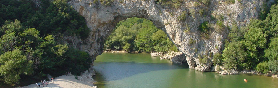 Pont d Arc in der Ardeche