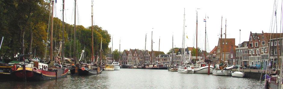 Im Hafen von Hoorn, Holland