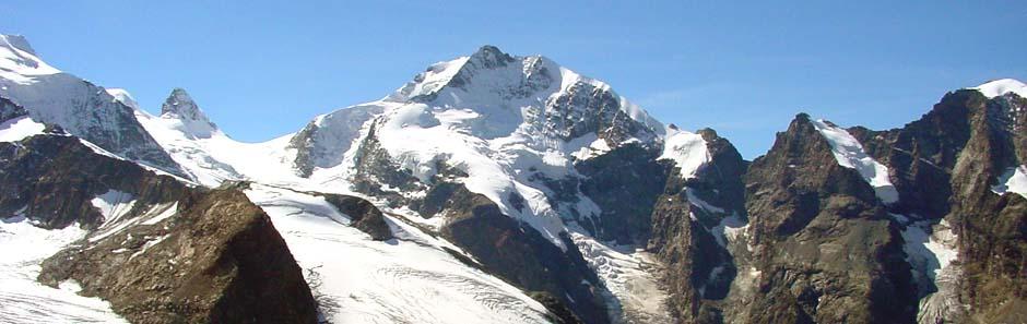 Monte Rosa, Walliser Alpen